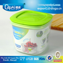 multifunctional draining clear plastic food storage container with lids