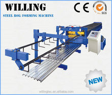 Hot Selling Galvanized Steel Plate Making Roll Forming Machine