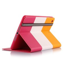 China hot selling tablet smart carbon fiber covers cases for apple iPad 5 stand case for ipad 5,case cover for iPad Air