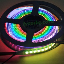AP102 dream color led strip with 144pcs led per meter, magic dream color led strip