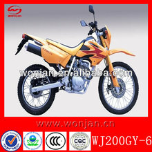 Motorcycles with EEC and 200cc dirt motorcycles (WJ200GY-6)