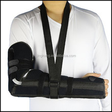Medical equipments arm fracture brace light weight adjustable arm sling forearm band with high performance