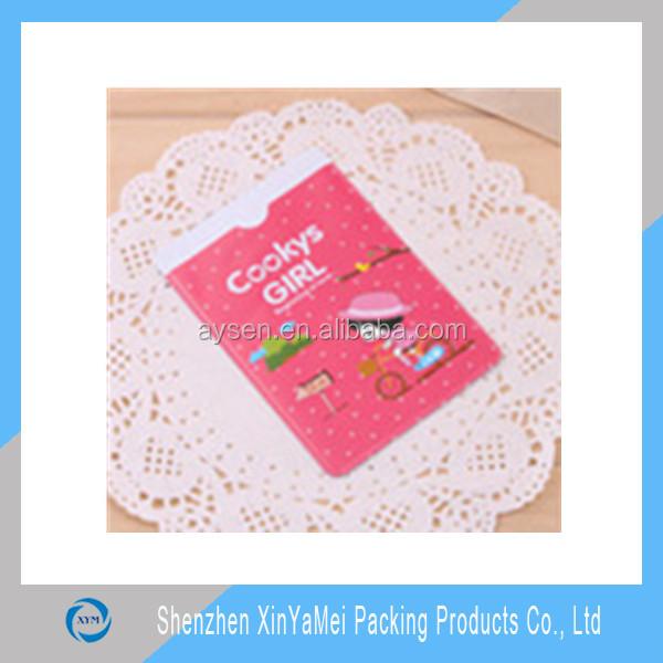 PVC gift name business card holder
