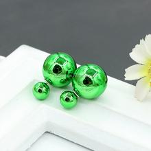 2016 Women Fashion Candy Color Pearl Ear Stud Earrings Jewelry