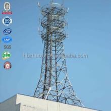 Steel four legged angular cdma cell phone tower manufacturers