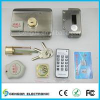 Electronic door locking card swipe door lock for hotels