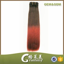 Hot selling fashionable hair styles 100% human ombre hair braiding hair