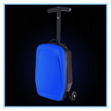 accept small order micro 3in1 luggage scooter