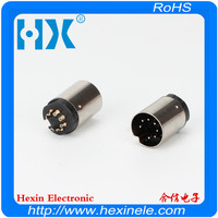 Hot selling Mini Din 7p For DC Cable solder type