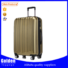 China supplier wholesale ABS PC luggage and fashion designer ABS PC travel luggage bag alibaba supplier
