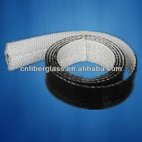Polyester silicone single-sided fiber glass tape,water-proof adhesive tape