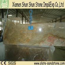 Manufacturer Precut Slab Imperial Gold Granite Kitchen Countertop