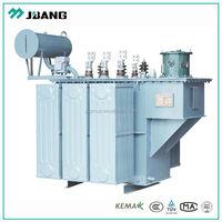 copper power transformer 35kv/0.4kv 100KVA-800kva oil immersed high voltage step-down power transformer full sealed oil tank