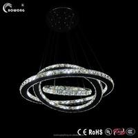 fashion new style pendant light,three ring pendant lamp