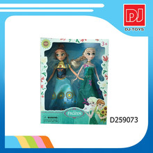 Popular Elsa New design frozen doll elsa and anne fishion dolls wholesale D259073