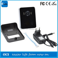 Shenzhen ATZ 2015 New Wrieless Smart Home Security IP Camera Door Phone With Night Vision IR 3M Small Size