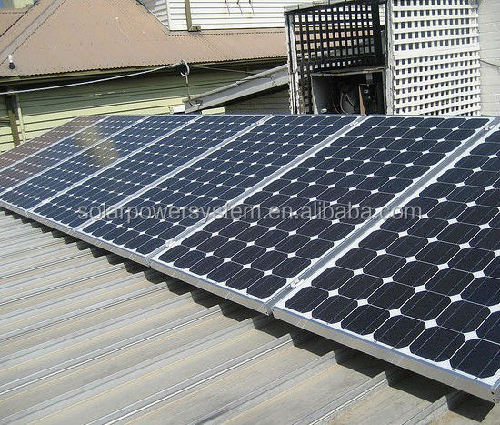 6000w renewable energy products solar system for home