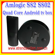 Amlogic S802 Quad Core android quad core tv box 4k Ultra Full HD with Kodi android media player S82 tv box support sex porn av