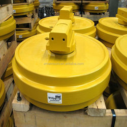 WSG Excavator idler rollers/ guide wheels for Hyundai R200 competitive price