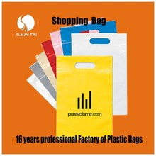 professional factory PE recycled shopping plastic carrier bags