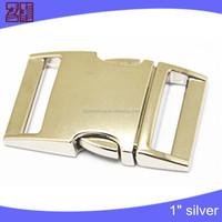 Factory bag buckle,clip buckle manufacture,metal side release buckle