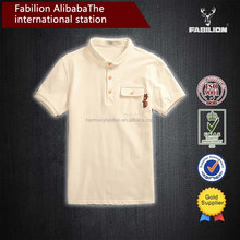 Summer men's small lovely embroidery and pure and fresh of fashion men polo t shirt brand