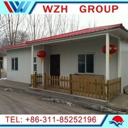 High quality prefab house/ prefabricated house/ cheap house made in China