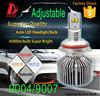9007 led 6000/9000 lm amarok cover bi xenon h4 lens car headlight