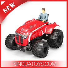 New Arriving!WL Toys 1:10 2.4GHz 4CH 2WD RTR RC Tractor Car PA Material