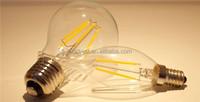 E14 LED Cool/Warm COB Filament Bulb 110V/220V Candle Tail Lamp Light K307X