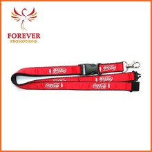 Promotional Company Staff Neck Lanyard Plastic Buckle and Safety Breakawy