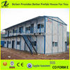 Low cost 2 floors prefa houses made in china