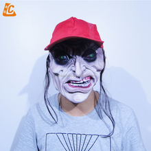 scary realistic halloween party mask rubber mask latex horror mask for sale