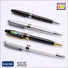 Reliable gift pen with parker ink metal promotional ball pen factory