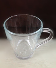 glass cup with handle/glass ware