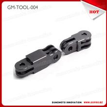 CNC Aluminum Mount three-way Pivot for GoPros HD 4 3+ 3 2 Black color