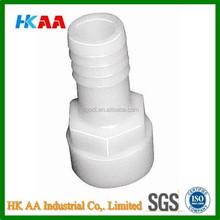 polypropylene plastic hose barb fitting, hose adapter / coupler