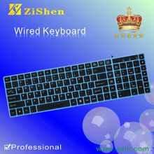 teclado del órgano electrónico