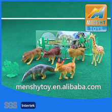 2015 top sell plastic animal toys figure,animal zoo/horse/lion/tiger/orangutan