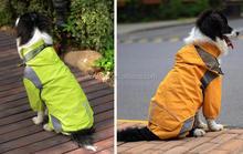 Venta al por mayor favorable de seguridad pvc impermeable grande del perro patrón