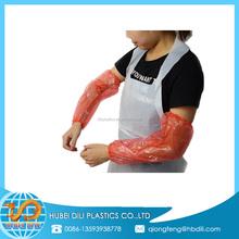 clear plastic protective sleeve/custom arm sleeves/waterproof arm sleeve
