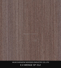 top quality wenge timber wood 0.5mm 1mm decorative recon face veneer for door skins