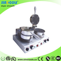 Hot Sale 2 Heads Stainless Steel Electric Waffle Makers