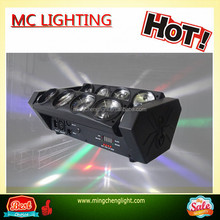 Professional 8*10W RGBW LED Moving Head Spider Beam Light Dj Equipment
