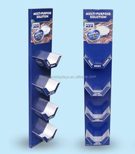 Cosmetic Advertising Corrugated Cardboard Hangsell Display