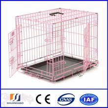 Hot sale cheap professional made stainless steel dog cage(factory)