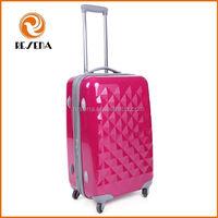 Special Design Trolley Hard Shell Luggage,PC Travel Trolley Luggage Set,Red ABS+PC Trolley Case Luggage Bag