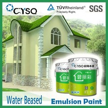 water based bluk silicone spray latex paint styrene acrylic polymer emulsion paint for house walls