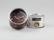 Customized clock coffee brand gifts