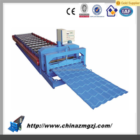 Factory price automatically color tile roll forming machine